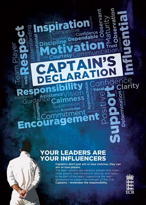Captains' Declaration